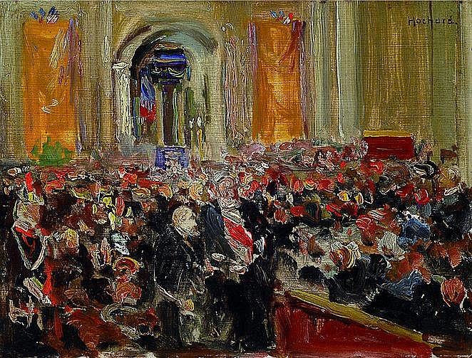 Hochard, Gaston, 1863-1913, Der Kongress der
