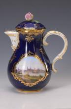 coffee pot, Meissen