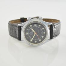 ORIS manual wound alarm wristwatch