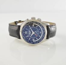VULCAIN alarm wristwatch Aviator Cricket GMT