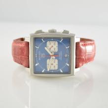 TAG HEUER Monaco gents wristwatch with chronograph