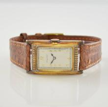 Rare gents wristwatch with early bumper automatic
