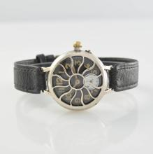 Early gents wristwatch so called protective trench watch