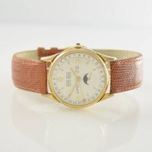 EBERHARD & CO. gents wristwatch with full calendar