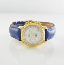 ZENITH 18k yellow gold intermediate wheel chronograph