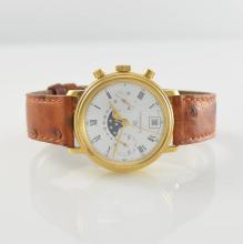 CHRONOSWISS chronograph with moon phase & date