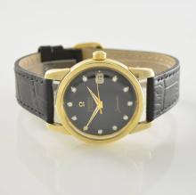 OMEGA Seamaster 14k yellow gold gents wristwatch