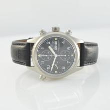 IWC gents wristwatch with rattrapante chronograph