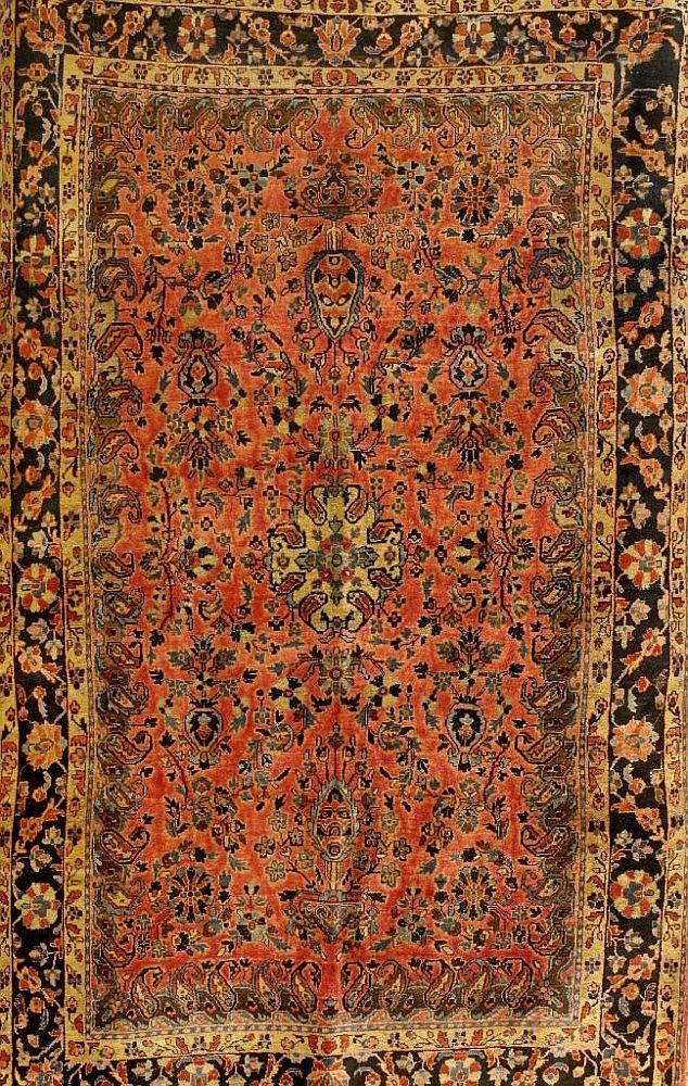 Sarogh Us Re-Import antik, Persien, 19.Jhd.,