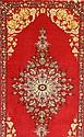 Esfahan fein, Persien, Korkwolle mit und auf