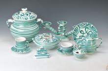 52 parts Gmundner ceramic