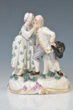porcelain group, Frankenthal