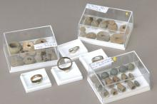 8 roman rings/36 lead weights