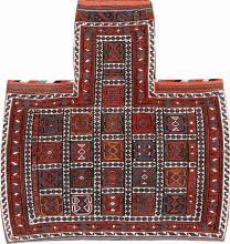 'Part-Cotton' Luri Bakhtiari-Sumakh 'Salt- Bag',