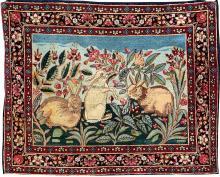 Kirman-Ravar 'Rabbit Family' (Pictorial),