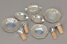 tableware of silver