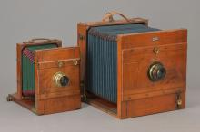 Two bellows cameras