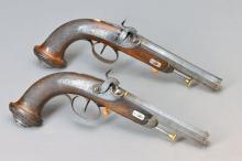 couple Percussion pistols