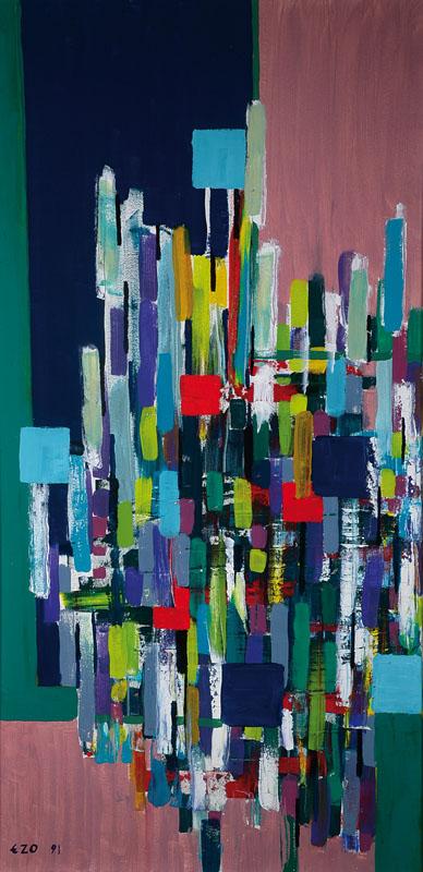 Eugeniusz Zygfryd Olszewski, 1924-2011, oil on canvas