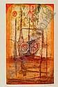 Carcan, Rene, Brüssel 1925-1993 La Lagune, zwei, René Marcel Carcan, Click for value