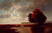 Neppel, Heinrich, 1874 - 1936, weite Landschaft