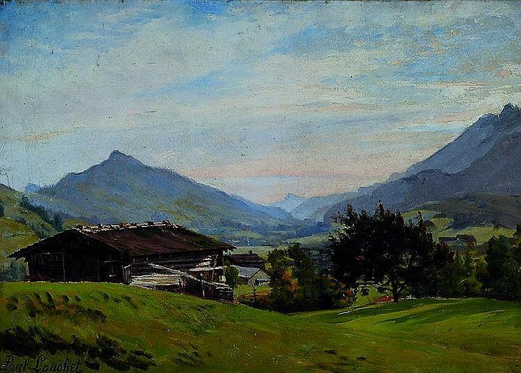 Louchet, Paul, 1854 Paris-1936, Sommerliche