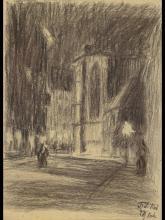 Friedrich Ferdinand Koch, 1863-1923 Landau, View into a