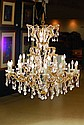 Pompous ceiling light, Italy, around 1955-60,