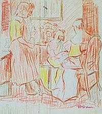 Friedrich Ferdinand Koch, 1863-1923 Landau, in the