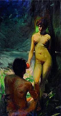 Haueisen, Albert, 1872 Stuttgart-1954 Kandel,