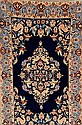 Esfahan fein alt, Persien, ca. 50 Jahre, Korkwolle