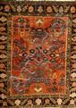 Sarogh (Us Re-Import) antik, Persien, um 1900,