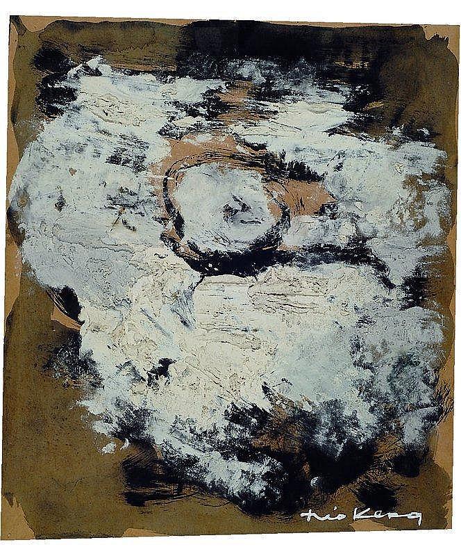 Kerg, Theo, 1909-1993, Abstrakte Komposition,