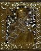 Ikone, Russland, 2. Hälfte 19. Jh., Bronzeguß fein