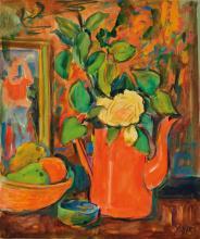 Friedrich Josse, 1897-1994, gouache / paper, still life,