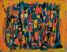 Friedrich Josse, 1897-1994, convolute of two gouaches,