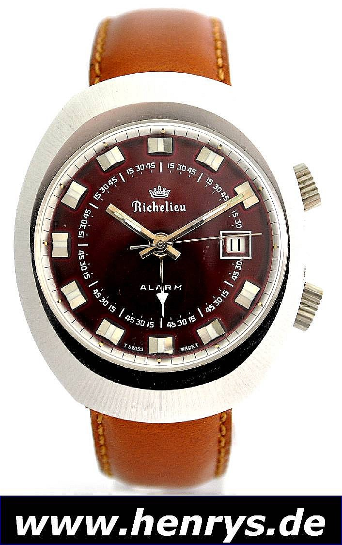 RICHELIEU Armbandwecker, Handaufzug, Schweiz