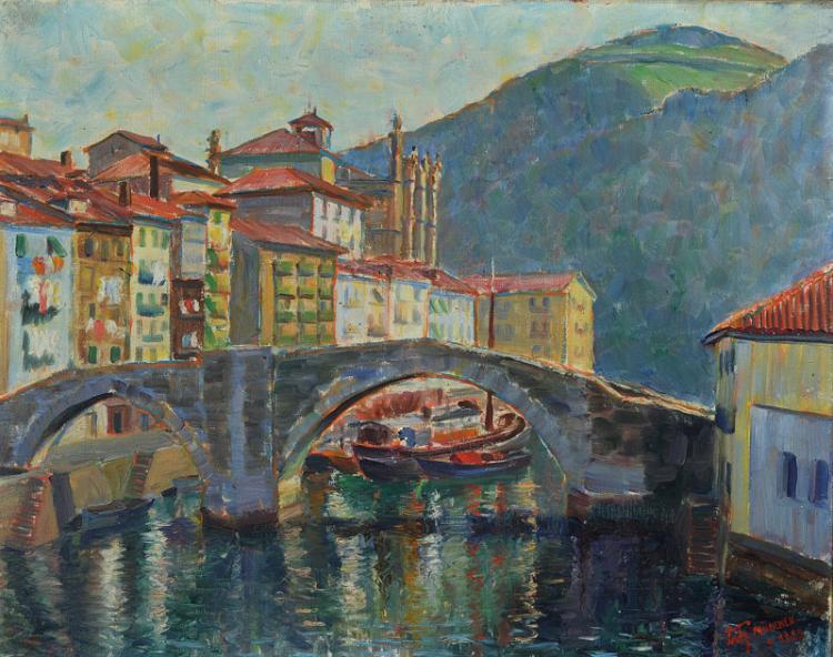 Hans Fritz, 1896-1927