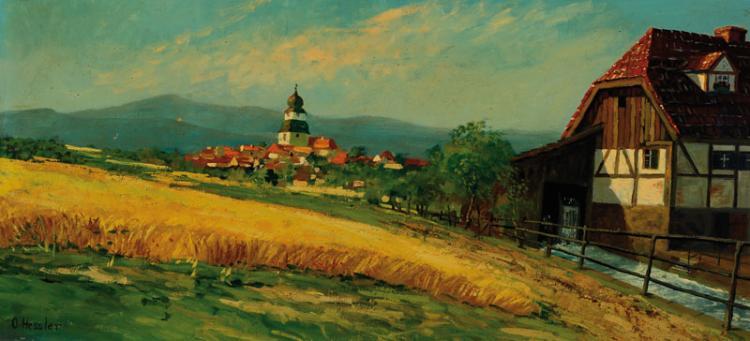 Otto Hessler, 1858-1923