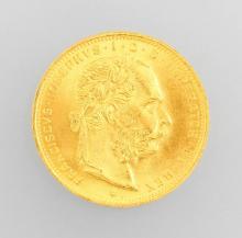 Gold coin 20 kroner, Austria/Hungary 1915