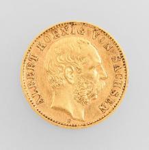 Gold coin 10 Mark 1898