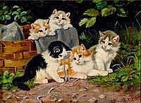 Kögl, Benno, genannt Katzen-Kögl, 1892-1973,Fünf
