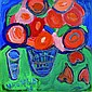 Herfeld, Ulrike, born 1945, Flowers in vase with