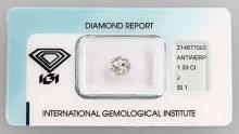 Brilliant, 1.33 ct