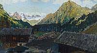 Kromer, Karl Maximilian, 1889 Wien - 1964 Tempera,