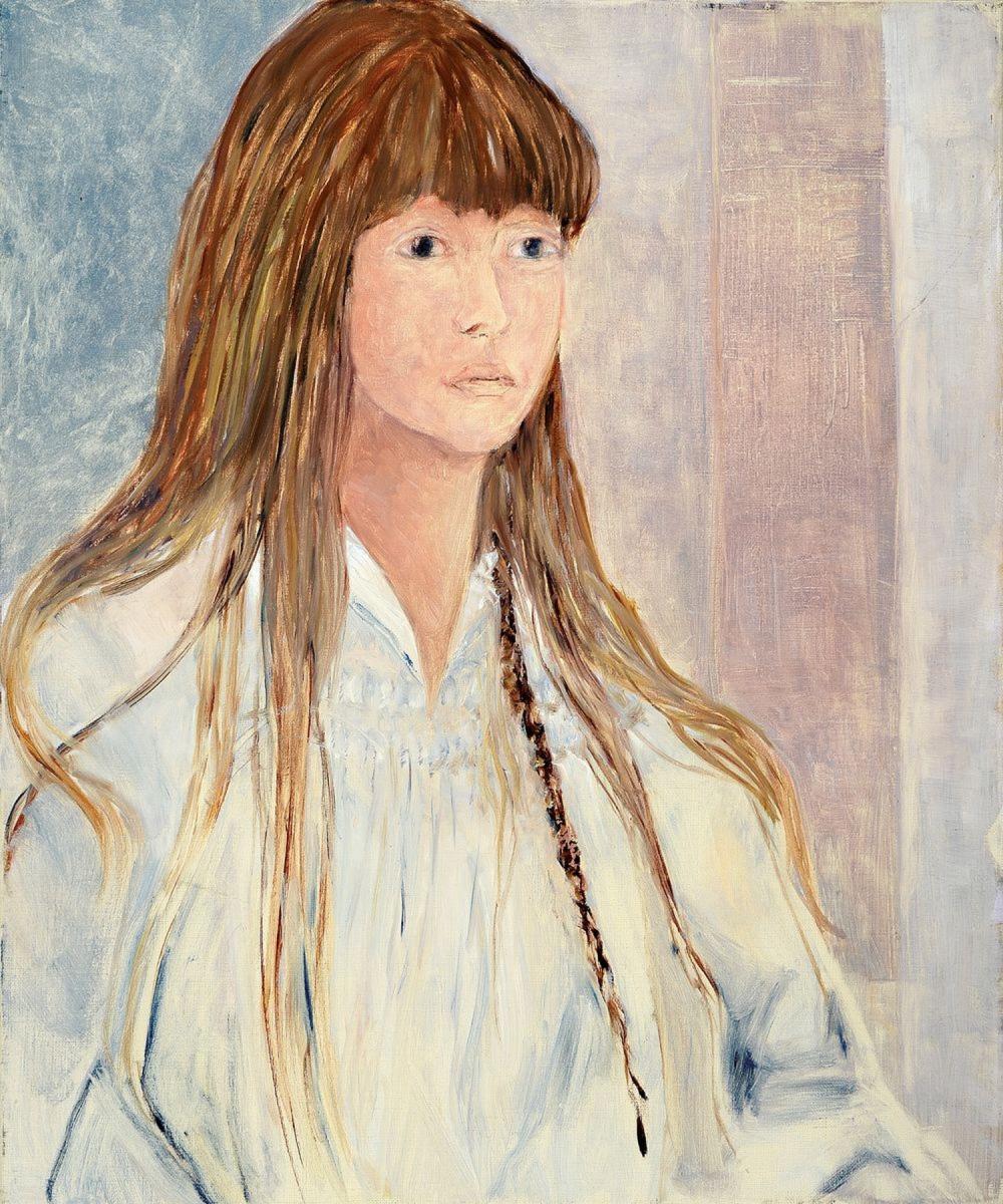 Attribution: Christel Abresch, 1931-2011, portrait of