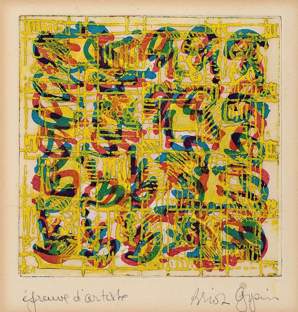 Brion Gysin, 1916 Taplow-1986 Paris, American