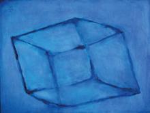 Lucien Sotto, contemporary Belgian artist, oil/ canvas