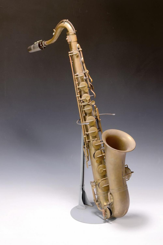 saxophone, Buffet Crampon, Paris, before 1900,Model Evette