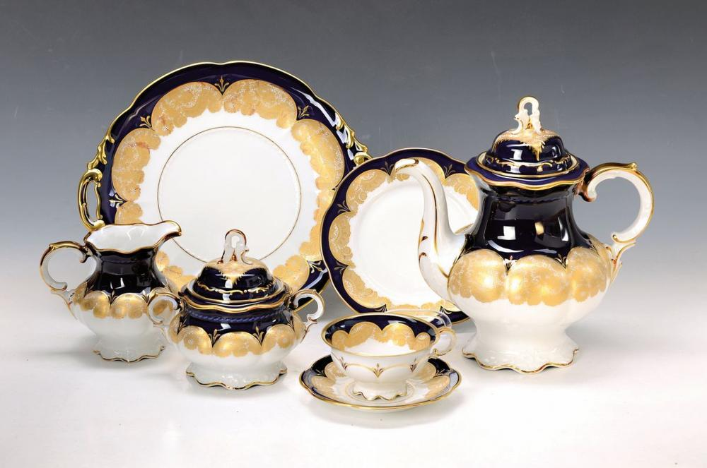 coffee set for 12 people, Hutschenreuther Hohenberg